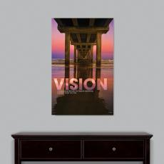 Vision Bridge Motivational Art  (703911)