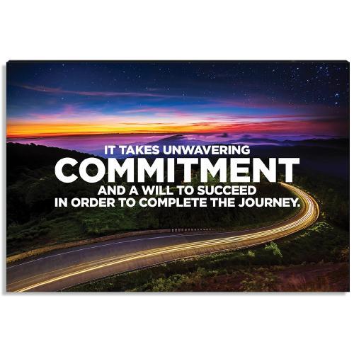 Commitment Inspirational Art
