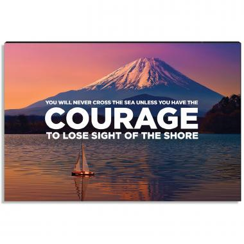 Courage Inspirational Art