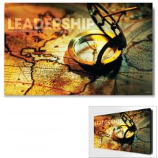 Modern Motivational Art - Leadership Compass Motivational Art