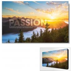 Modern Motivational Art - Passion Sunrise Motivational Art