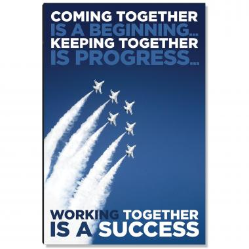 Success Together Inspirational Art