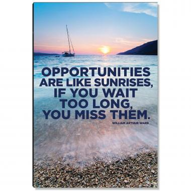 Missed Opportunities Inspirational Art