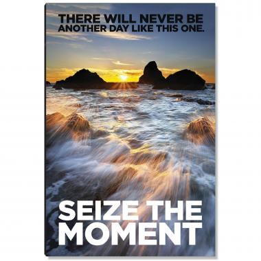 Seize the Moment Inspirational Art