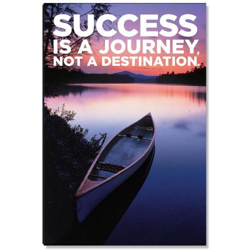 Success is a Journey Inspirational Art