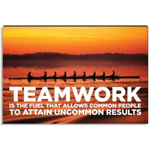 Teamwork Inspirational Art