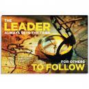 Lead Sets the Trail Inspirational Art