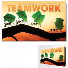 Modern Motivational Art - Teamwork Ants Motivational Art