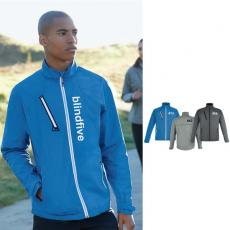 Outerwear - Frequency;North End Sport<sup>®</sup> - 3XL -  Men's light weight melange jacket