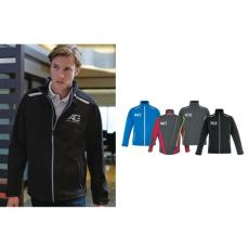 Outerwear - Excursion;North End Sport<sup>®</sup> - 3XL -  Men's soft shell jacket with laser stitch accents