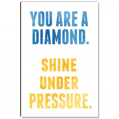 You Are a Diamond Inspirational Art