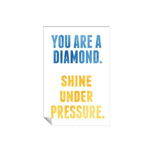 You Are a Diamond Inspirational Art