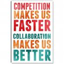 Collaboration Makes Us Better Inspirational Art