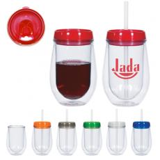 Drinking Glasses - Bev2Go<sup>®</sup> - 10 Oz. Double Wall Tumbler