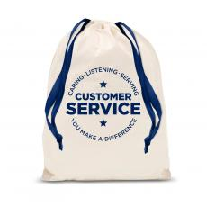 Gift Accessories - Customer Service Drawstring Gift Bag