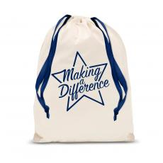 Making a Difference - Making a Difference Star Drawstring Gift Bag
