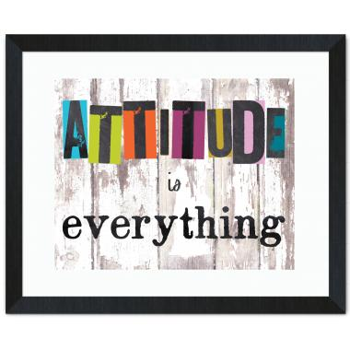 Attitude Is Everything Inspirational Art