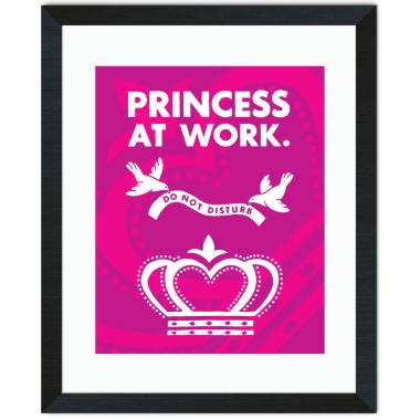 Princess At Work Inspirational Art