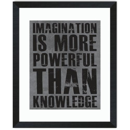 Imagination Is More Inspirational Art