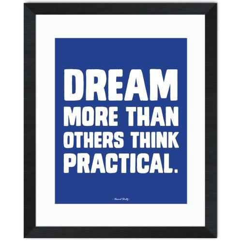 Dream More Inspirational Art