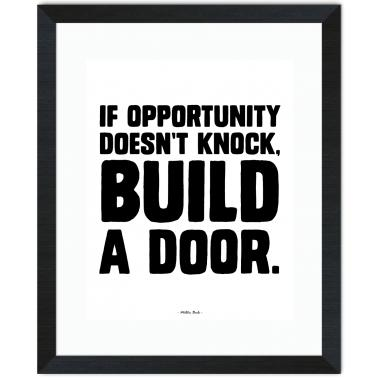 Opportunity Knocks Inspirational Art