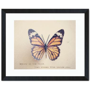Butterfly Beauty Inspirational Art