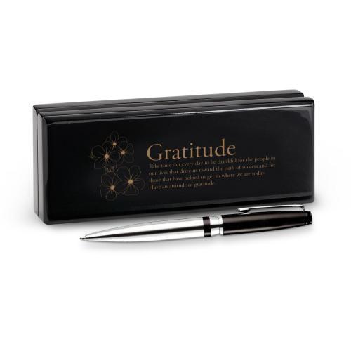 Gratitude Cherry Blossoms Signature Series Pen & Case