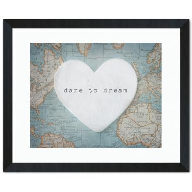 Dare To Dream Inspirational Art