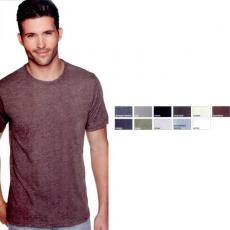 T-Shirts - Next Level Apparel - 2XL -  Men's, 3.7 oz. 65% polyester / 35% combed cotton t-shirt. Blank