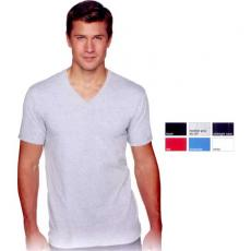 T-Shirts - Next Level Apparel - 2XL -  Premium fitted short sleeve v-neck t-shirt. Blank