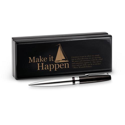 Make it Happen Sailboat Signature Series Pen & Case