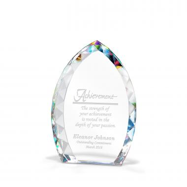 Marquise Prism Crystal Award