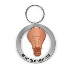 Keychains - Bright Ideas Metal Keychain