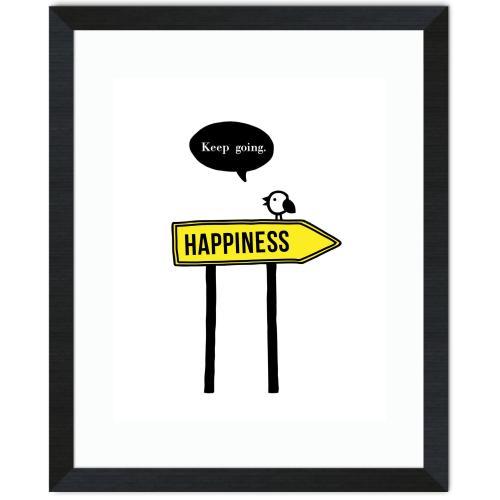 Happiness Inspirational Art