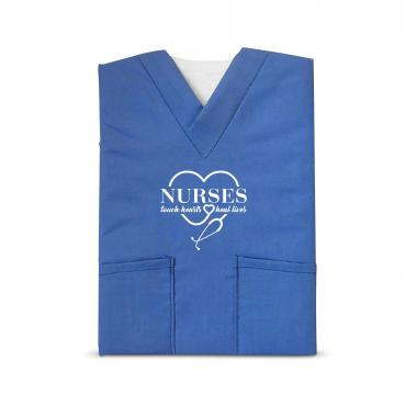 Nurses Touch Hearts Scrubs Notebook
