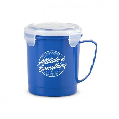 Attitude is Everything 24oz Food Container Mug
