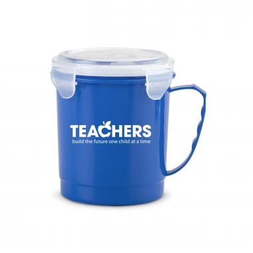 Teachers Build Futures 24oz Food Container Mug