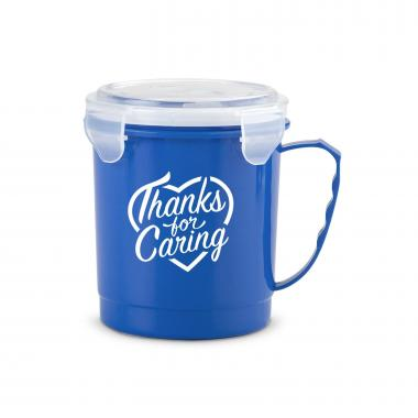 Thanks for Caring 24oz Food Container Mug