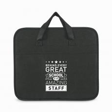 Team Gifts - Behind Every Great School Non-Woven Trunk Organizer
