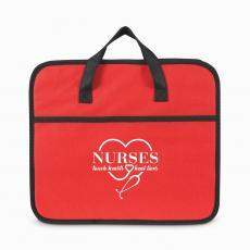 Team Gifts - Nurses Touch Hearts Non-Woven Trunk Organizer