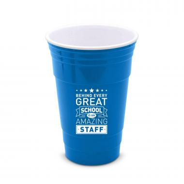 Behind Every Great School 16oz Gameday Tailgate Cup