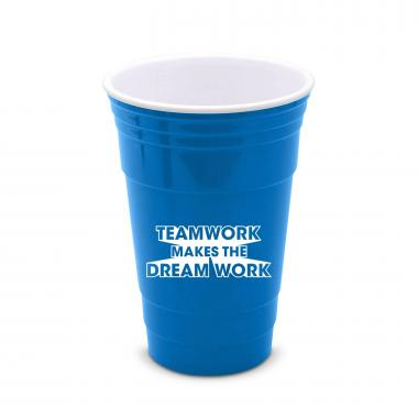 Teamwork Dream Work 16oz Gameday Tailgate Cup