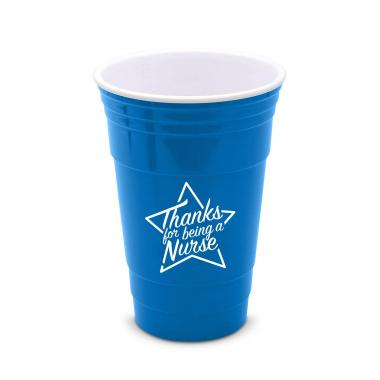 Thanks Nurse Star 16oz Gameday Tailgate Cup