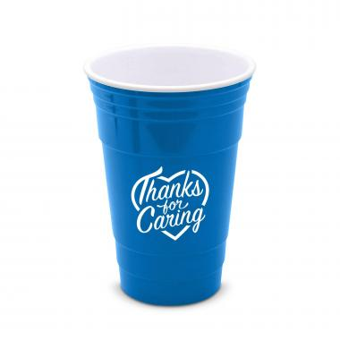 Thanks for Caring 16oz Gameday Tailgate Cup