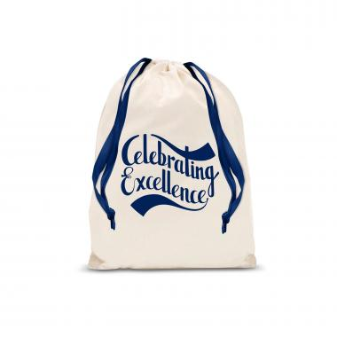 Celebrating Excellence Small Drawstring Gift Bag
