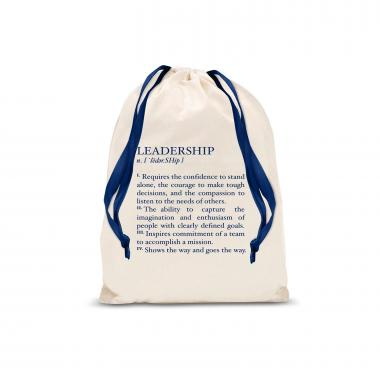 Leadership Definition Small Drawstring Gift Bag
