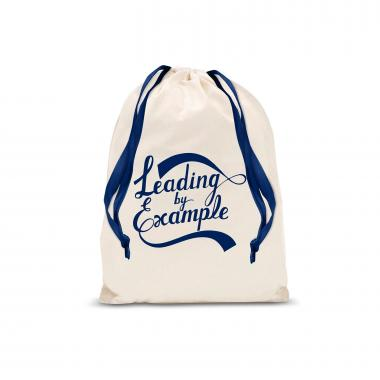 Leading by Example Small Drawstring Gift Bag