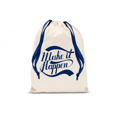 Make it Happen Small Drawstring Gift Bag