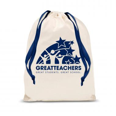 Great Teachers Small Drawstring Gift Bag