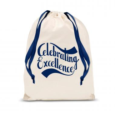 Celebrating Excellence Large Drawstring Gift Bag